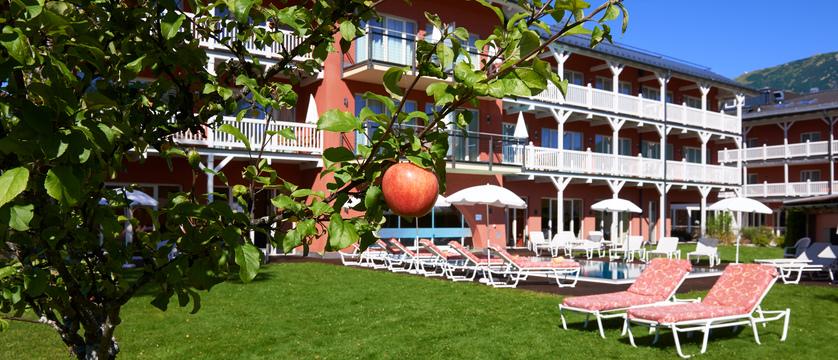 Das Hotel Eden, Seefeld, Austria - garden with pool.jpg
